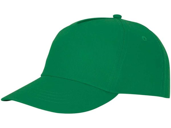Бейсболка полувелюр зеленый
