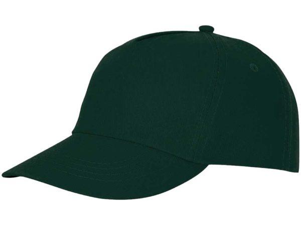 Бейсболка полувелюр темно-зеленый