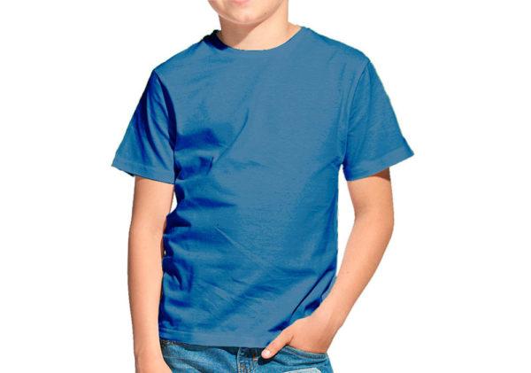 Футболка детская джинс (темно-голубой)