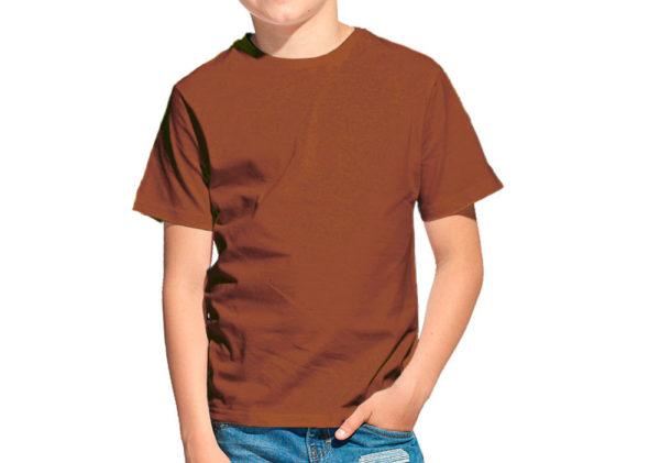 Футболка детская терракот (светло-коричневый)
