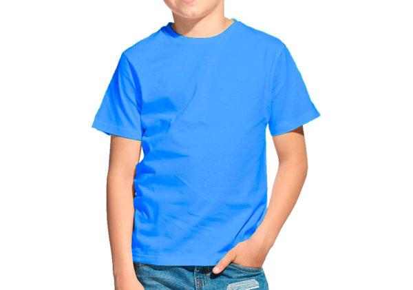 Футболка детская лазурь (светло-синий)