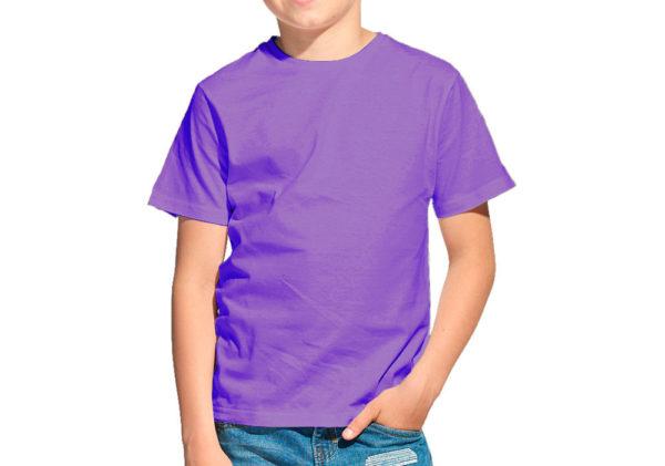 Футболка детская сирень (светло-фиолетовый)