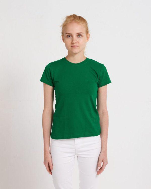 Футболка женская classic Зеленый