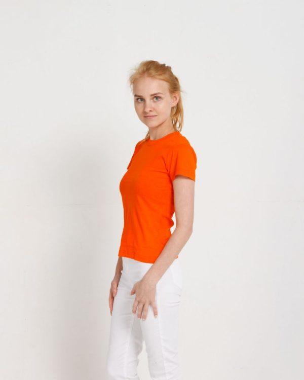 Футболка женская classic Оранжевый