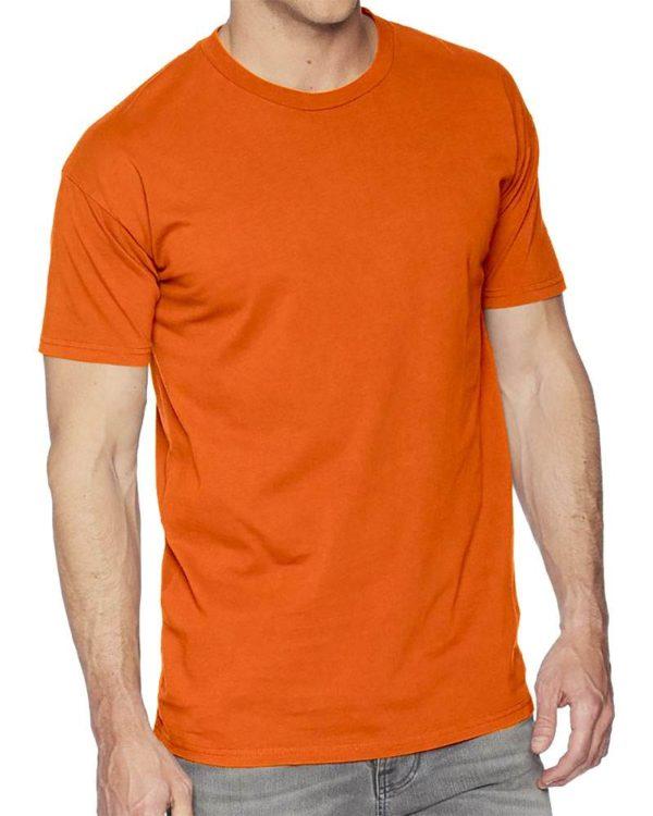 Футболка мужская промо оранж