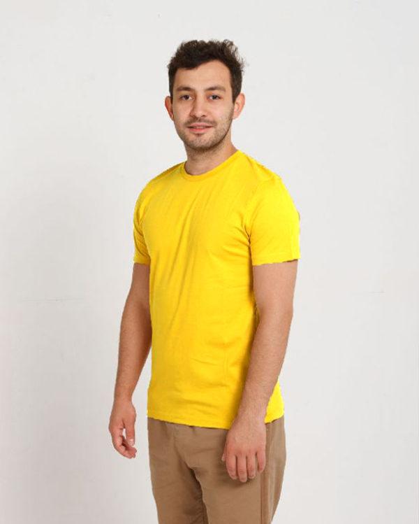 Футболка мужская Желтый