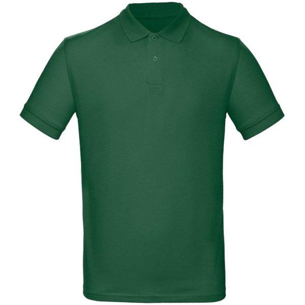 Рубашка поло мужская цвет зеленый