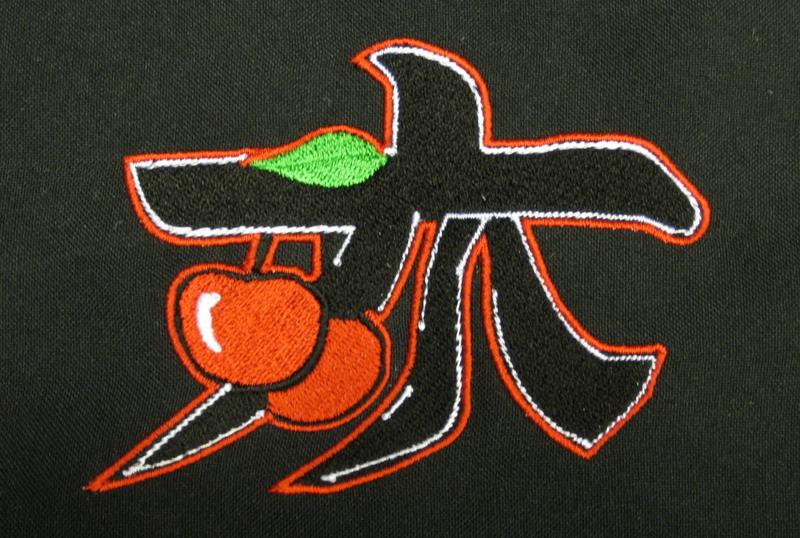 2D вышивка