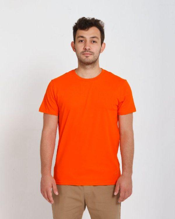 Футболка мужская оранжевый