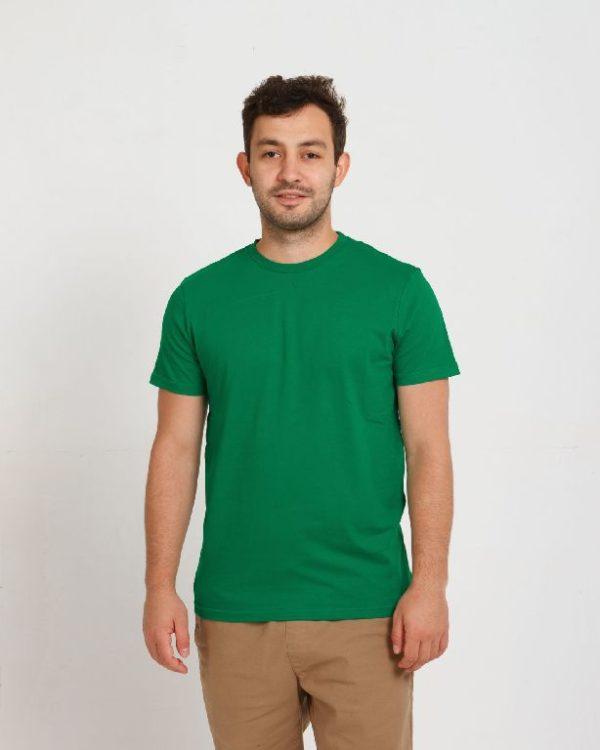 Футболка мужская зеленый
