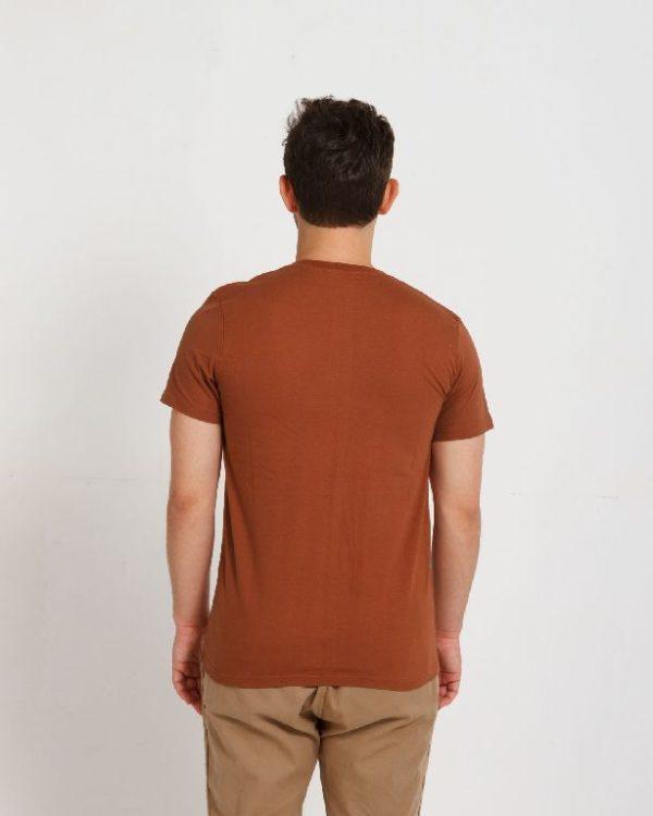 Футболка мужская терракот (светло-коричневая)