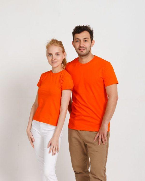 Футболка женская классик оранжевый
