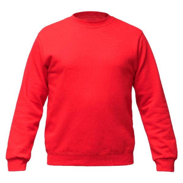 Свитшот Премиум, цвет красный