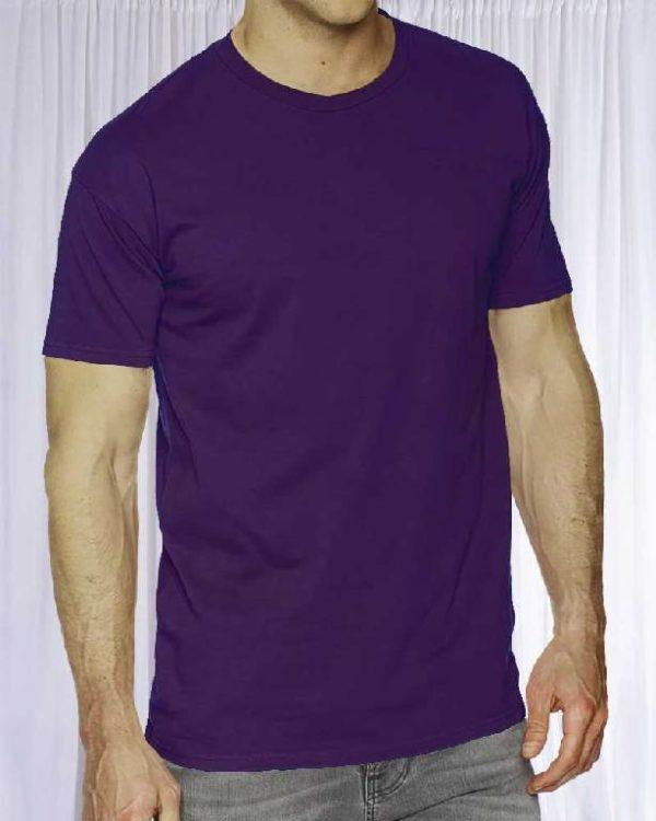 Футболка Классик Слива (темно-фиолетовая)