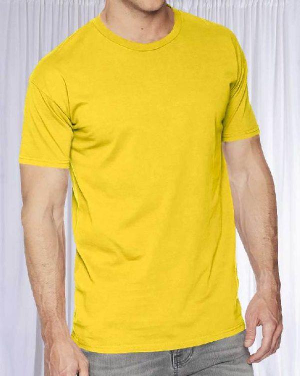 Футболка Классик Желтая