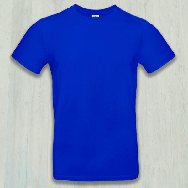 Футболка Премиум-180 синяя (василек)