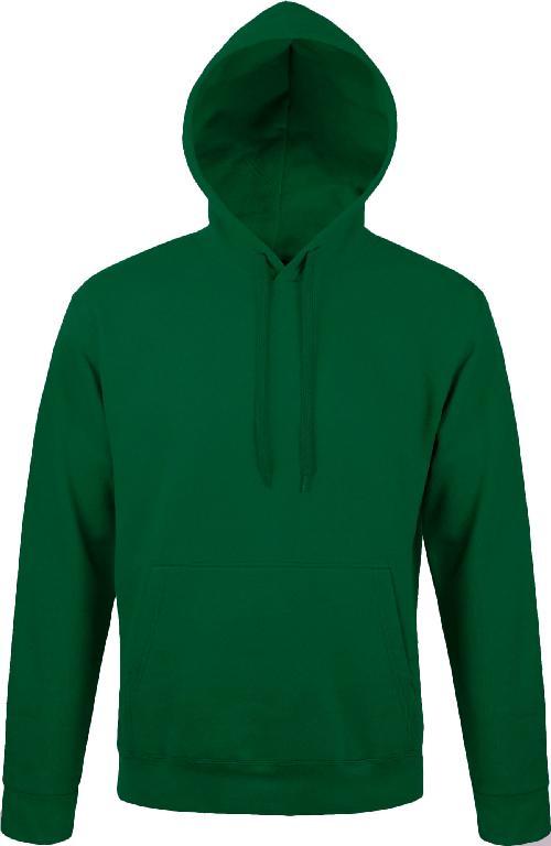 Худи-кенгуру Премиум зеленая