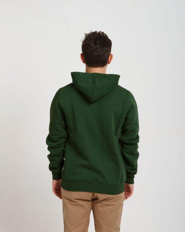 Худи Премиум Темно-зеленый