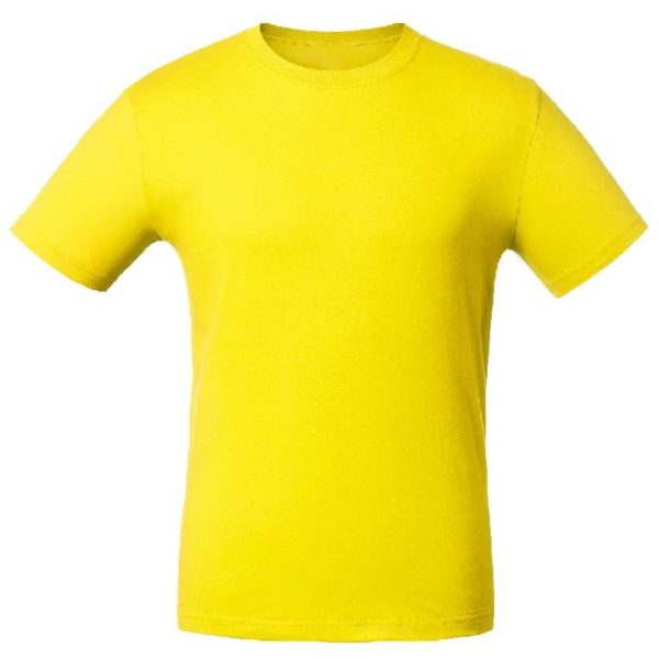 Футболка промо-лайт 140г. желтая