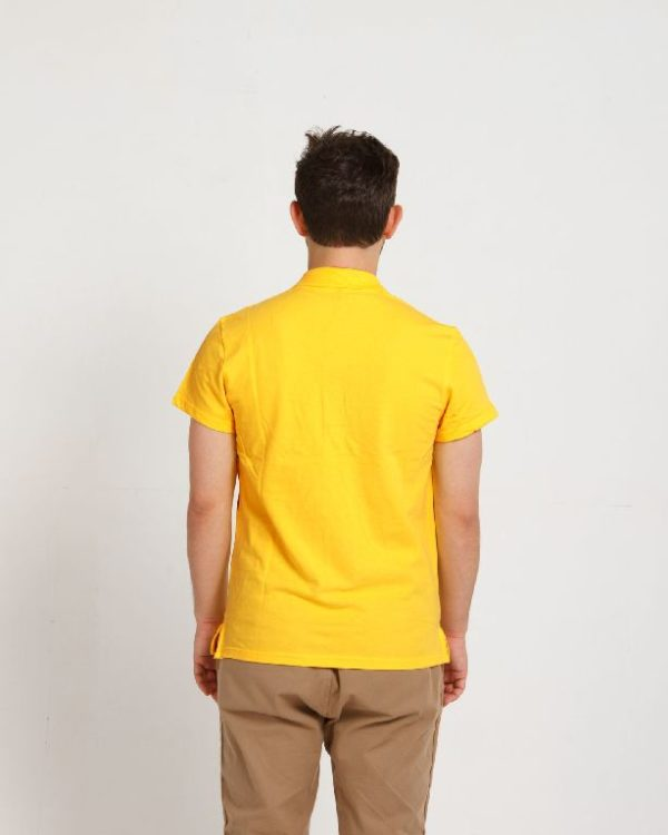 Рубашка поло мужская Желтый