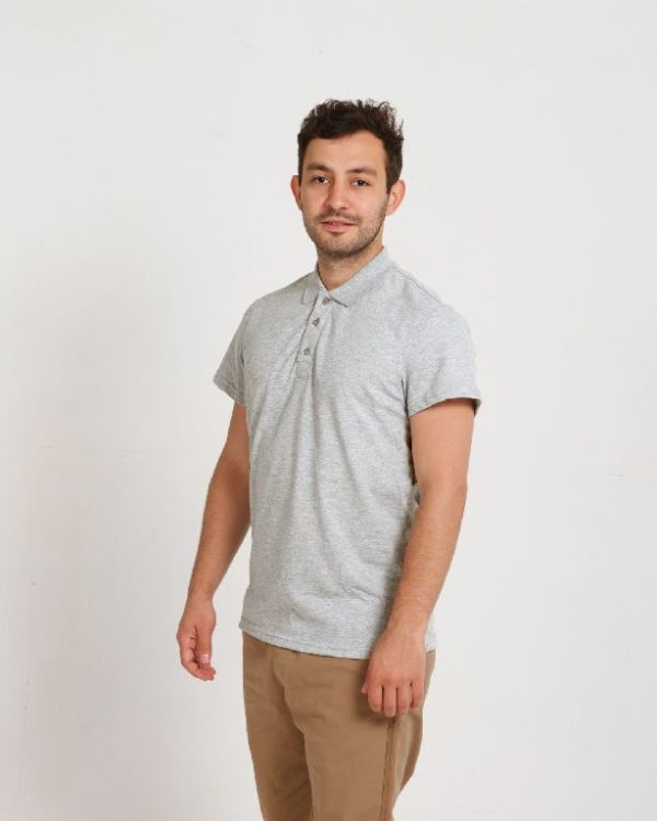Рубашка поло мужская Меланж