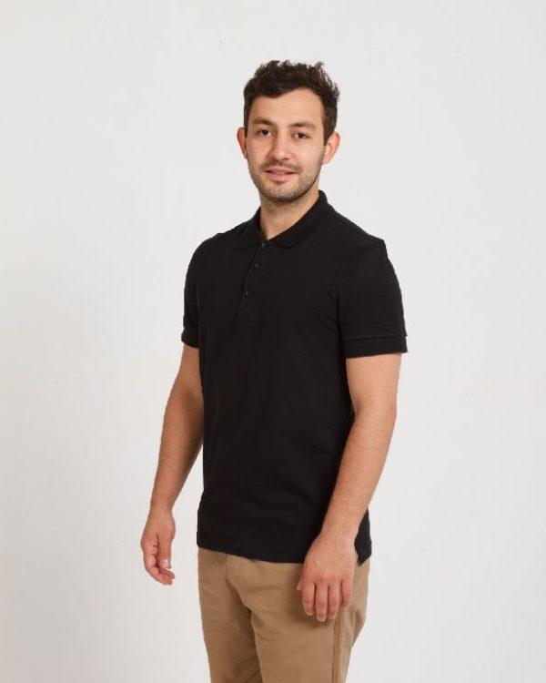 Рубашка поло мужская Черный
