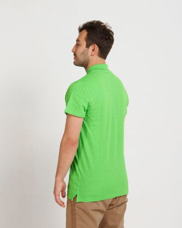 Рубашка поло мужская Лайм