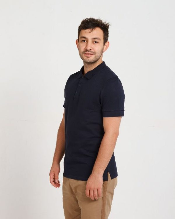 Рубашка поло мужская Темно-синий