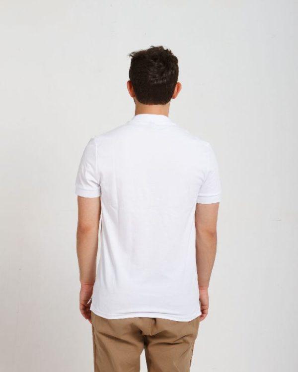 Рубашка поло мужская Белый