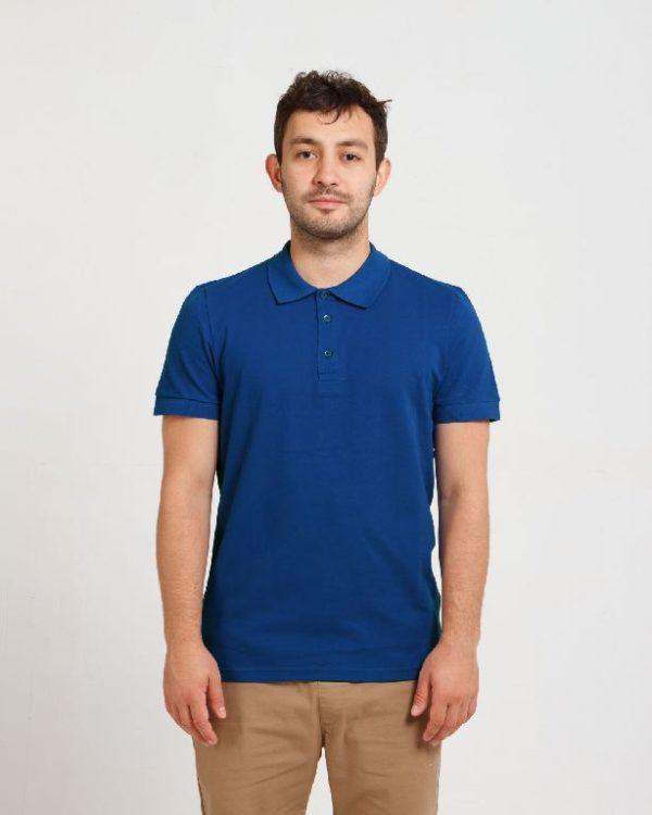 Рубашка поло мужская Синий