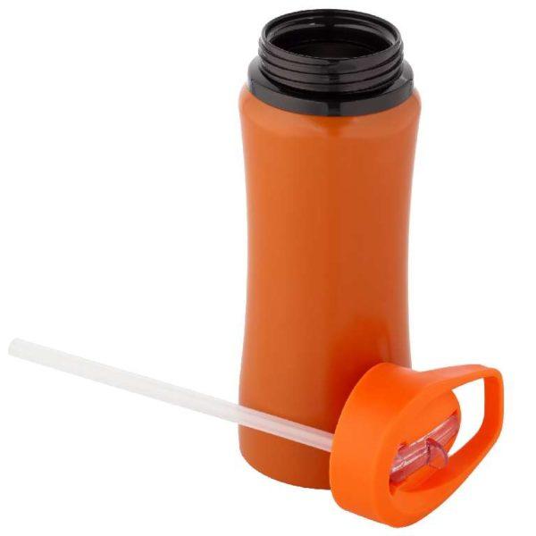 Бутылка спортивная Премиум оранжевая
