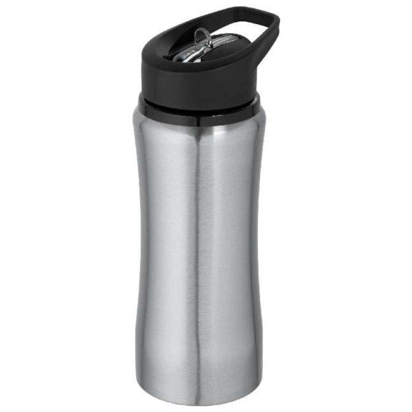 Бутылка спортивная Премиум серебро