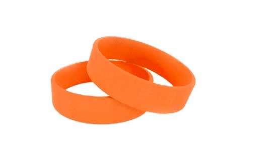 Браслет детский оранжевый