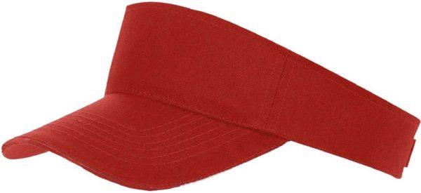 Козырек красный