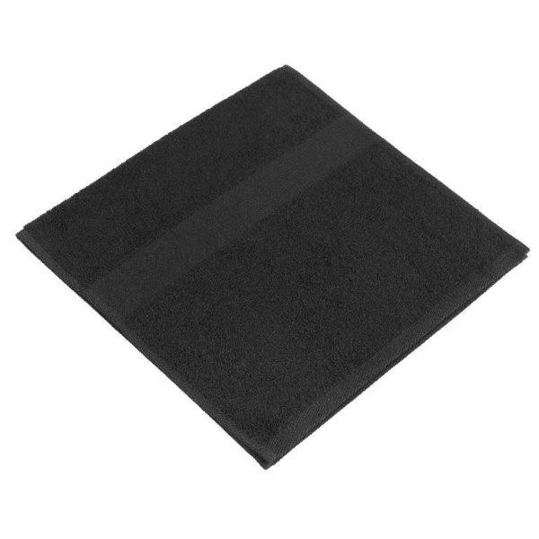 Полотенце махровое черное