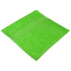 Полотенце махровое лайм