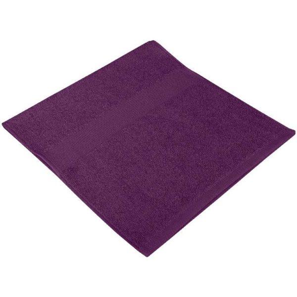 Полотенце махровое слива