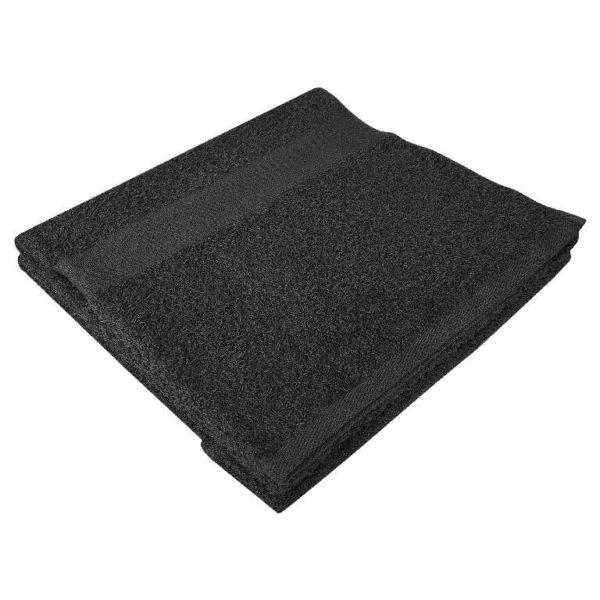 Полотенце махровое банное 70*140 черное