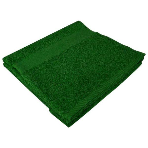 Полотенце махровое банное 70*140 зеленое
