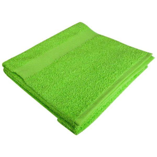 Полотенце махровое банное 70*140 лайм