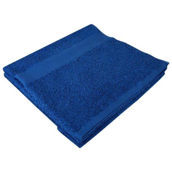 Полотенце махровое банное 70*140 синее