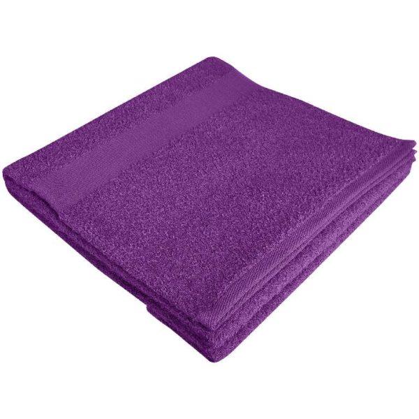 Полотенце махровое банное 70*140 слива