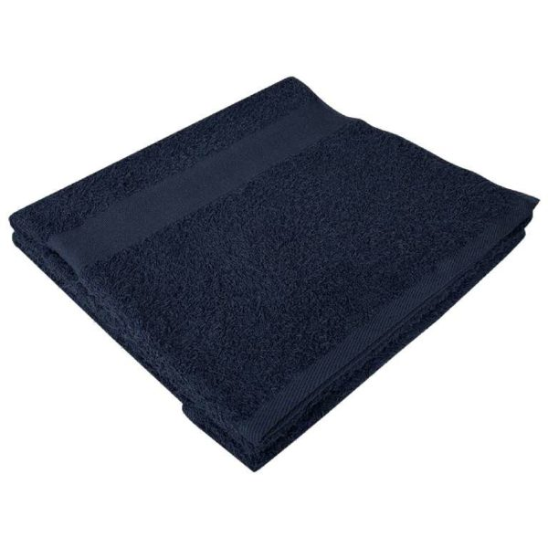 Полотенце махровое банное 70*140 темно-синее