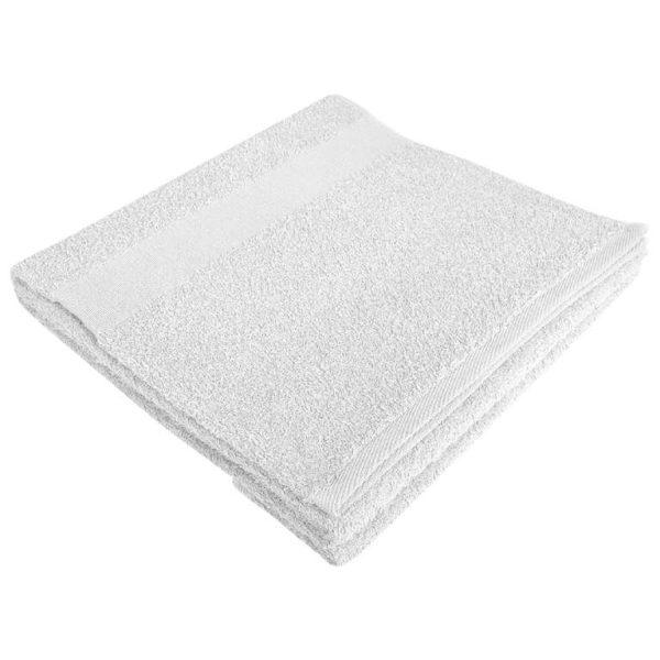 Полотенце махровое банное 70*140 белое
