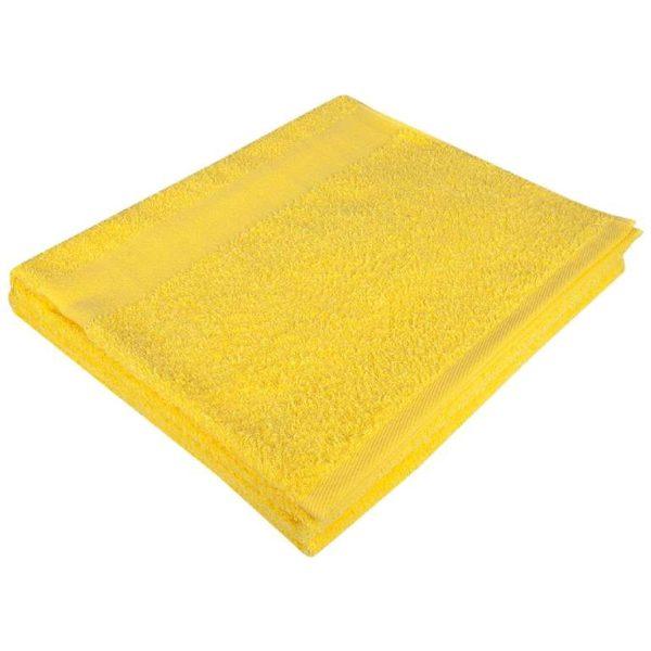 Полотенце махровое банное 70*140 желтое