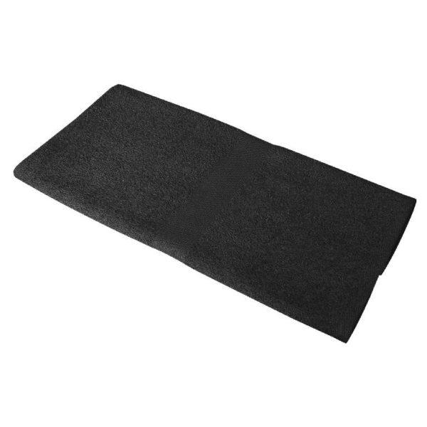 Полотенце махровое 50*90 черное