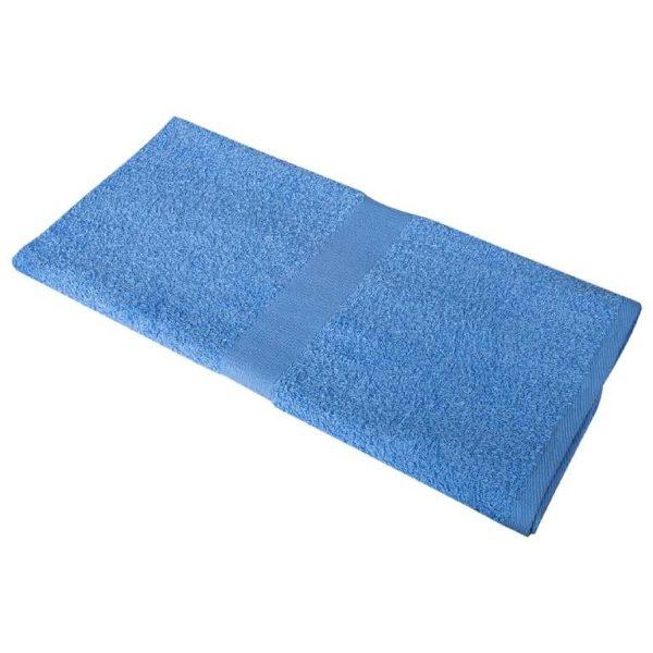 Полотенце махровое 50*90 голубое