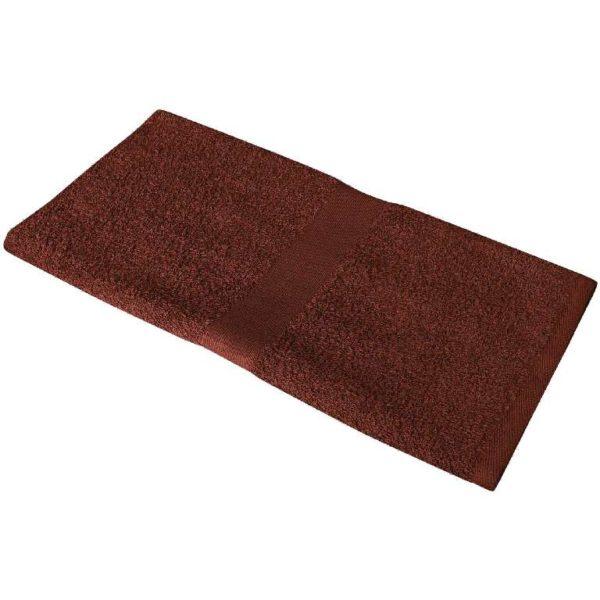 Полотенце махровое 50*90 коричневое