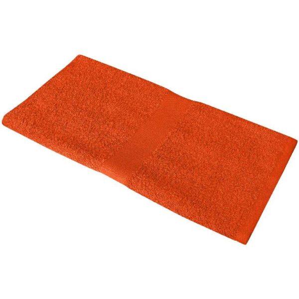 Полотенце махровое 50*90 оранжевое