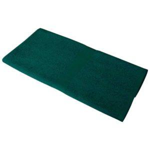 Полотенце махровое 50*90 темно-зеленое